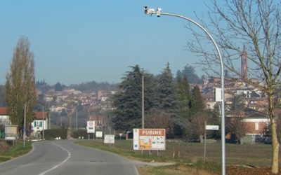 BBBell realizza il Progetto di Videosorveglianza del Comune di Fubine nell'alessandrino: installate 10 telecamere e rinnovate le 2 preesistenti