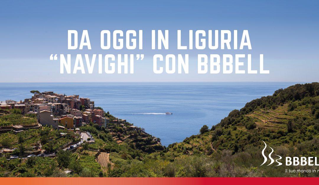 Da oggi in Liguria si naviga con BBBell