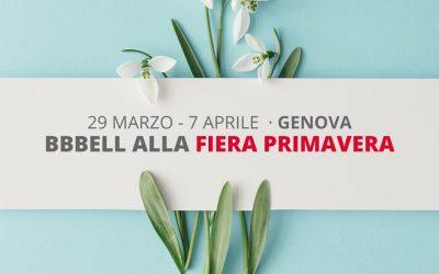 BBBell dal 29 marzo al 7 aprile alla Fiera Primavera di Genova