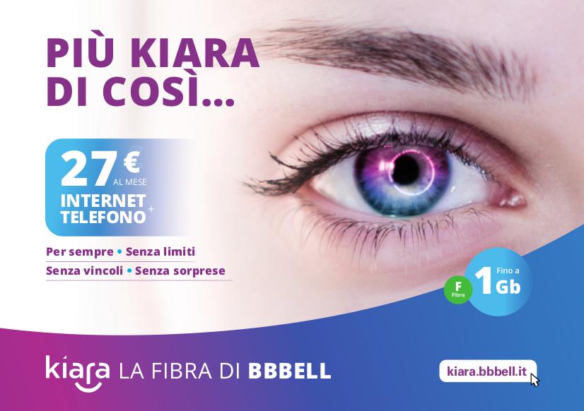 Kiara da oggi attiva in molte città del Piemonte e della Liguria