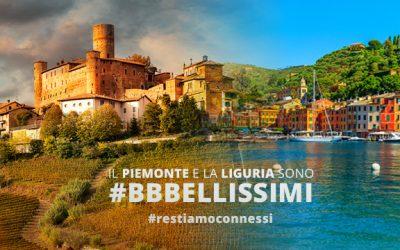 """Al via la nuova campagna pubblicitaria """"La Liguria e il Piemonte sono BBBellissimi"""""""