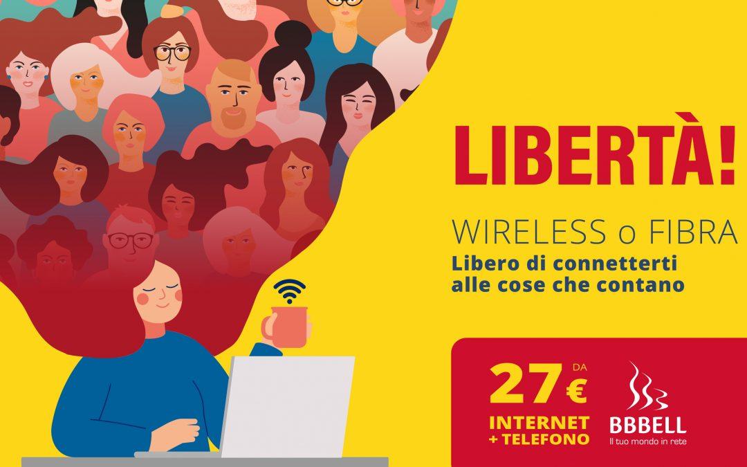 """Al via la nuova campagna pubblicitaria """"Libero di Connetterti alle cose che contano"""""""