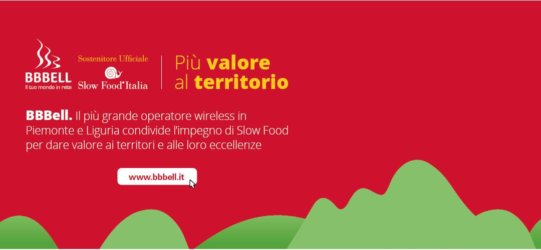 BBBell diventa Sostenitore Ufficiale di Slow Food Italia